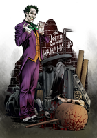 The Joker by Sorathepanda
