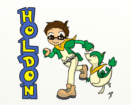 Request- Happy Birthday Holdon! by WhatsHisFace666