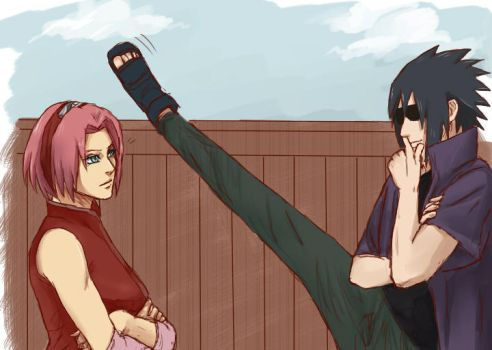 Hey There (Sasusaku) by naruto3119