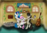 Music Lessons/Creative Differences con color by lefthoovesdash