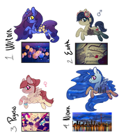 [CLOSED] Pics Ponies Adopts by EventidePonies