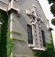 Cross on the University of Michigan Campus by JessicaDobbs