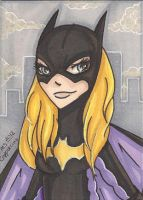 ACEO - Batgirl by MsCappuccino
