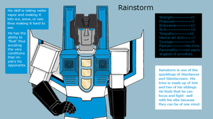 Newer version of Rainstorm. by loaves