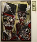 Ghouls In Top Hats by Manomatul