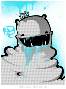 I LOVE by KIWIE-FAT-MONSTER