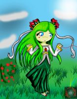 Cosmo the seedrian by Reminiscencegothamy