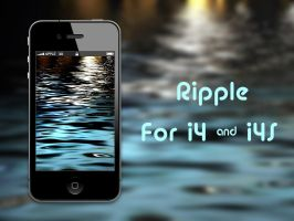 Ripple i4S Wallpaper by biggzyn80