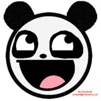Awesome Panda Face by Panda-92