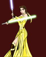 Jedi Belle by NightingaleHale