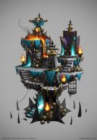 Siegecraft Commander Chaos Tower by mavhn