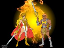 MOTU - Eternity War (FILMATION style) by FaGian