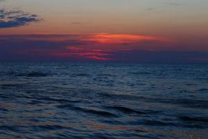 Grand Haven State Park Sunset 2 by jessijoke