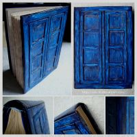 Doctor Who TARDIS Notebook by Sini-M