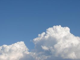Wild Blue Yonder Sky Clouds 27 by FantasyStock