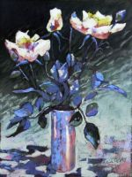 wilted roses soft pastel by PatrickHENRY