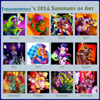 2014 in Review by Turquoisephoenix