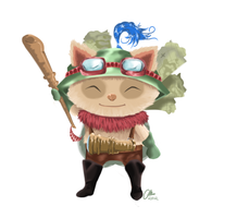 Capn Teemo on duty by Happy2Live