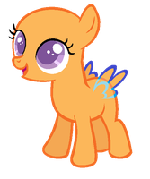 MLP Base- Filly by alari1234-Bases