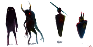 shadows concepts by P-cate