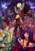 TTGL-meeting of evil by Nomimo
