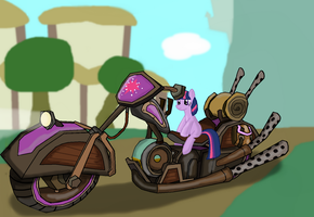 Twilight's Chopper by ZergRex