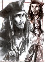 Jack Pencil Sketches by tifachan