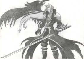 Sephiroth by DemiuM666