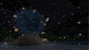 Minecraft Stargate by willowfall