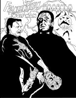 Universal Monsters #4 by RoyPrince
