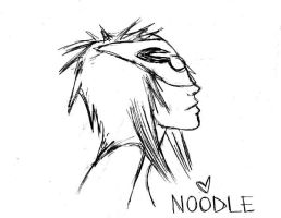 Plastic Beach - Noodle 2 by KAISSY