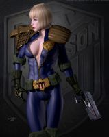Judge Anderson ...Don't Judge Me PERV! by DevilishlyCreative