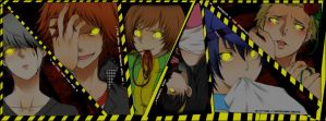 Persona 4: The Animation. Shadows. by Yosukei. XD by Yosukei09