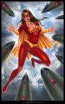Commission: MIGHTY WOMAN 2 by johnbecaro