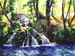 Splashing and Birdsong - for sale by rieke-b