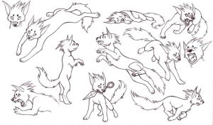 Inuzuka puppy love by HanMonster