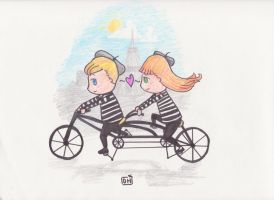French Love by FlourescentRaven