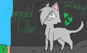 EmeraldClan Banner by seaqlasses