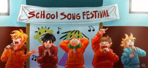 South Park - song festival by Joxem