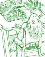 071214 My Work Space by chiyokins