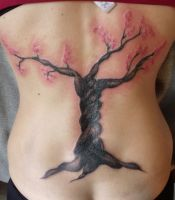 After Cherry Blossom cover up by IAteAllMyPaste
