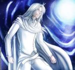 Whitemoon at the Gate by Mami02