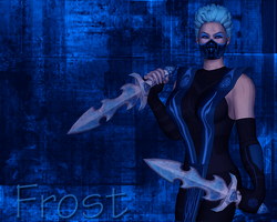Frost Masked Wallpaper by FrostMKFan