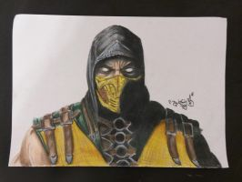 Scorpions MKX + speed drawing by DanloS
