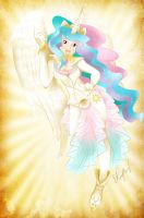 Princess Celestia by Azrhia