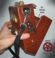Steam Punk Leather Bag 04 by Steam-HeART