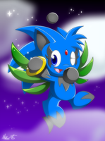Zipo the Chao for Zipo-Chan. by SinisterSanguine