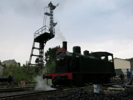 Spontin 150814 Steam, Semaphores and Coal by kanyiko