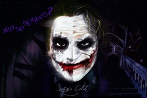 Why So Serious by EvenstarArwen