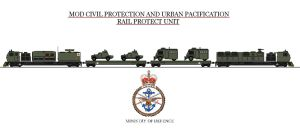 Civil Defence Train by Leadmill